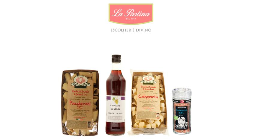 """Importadora La Pastina apresenta  novidades para os """"gourmands"""""""