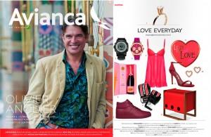 Revista Avianca: Presente para o Dia dos Namorados