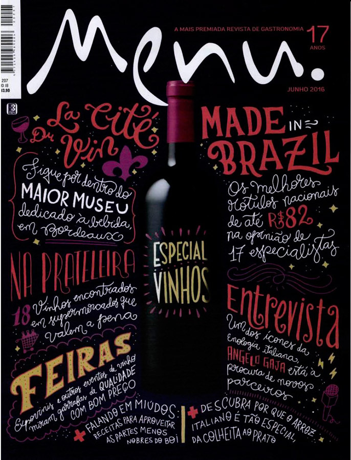 Revista Menu: Vinhos de Supermercado