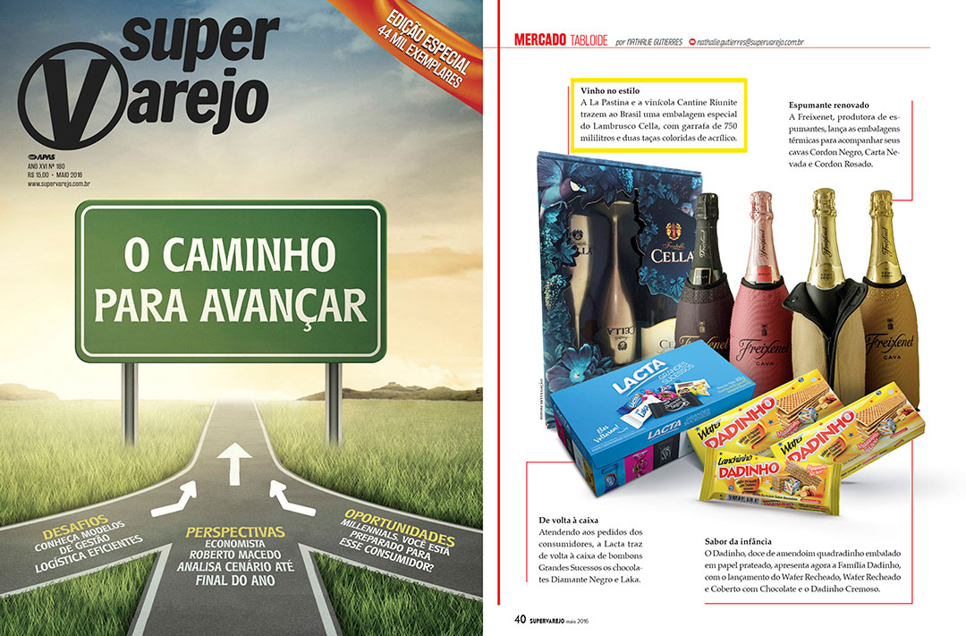 Revista Super Varejo: Lambrusco Cella