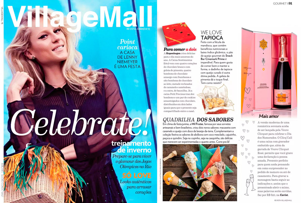 Revista Shopping Village Mall