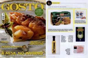 Revista Gosto: Pesto alla Genovese La Pastina e Bag de Sal Rosa da Montosco