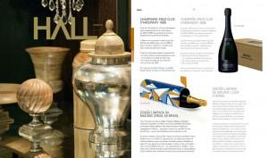 Revista Hall: Krug Clos D´Ambonnay 1998 e Clicquot Mailbox
