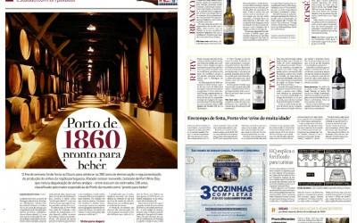 Paladar (Jornal O Estado de S. Paulo): vinhos do Porto