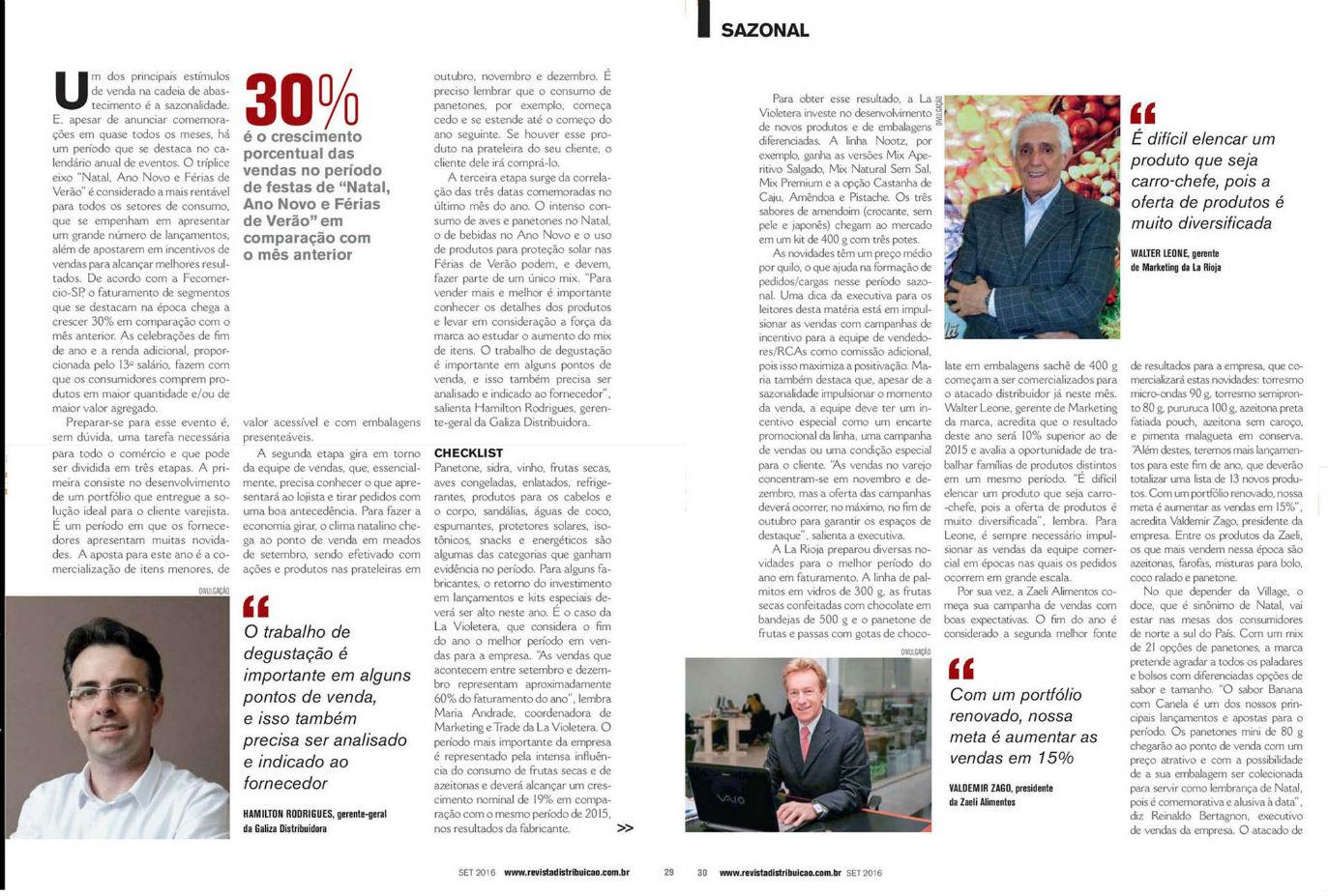 imagem Revista Distribuição: La Pastina