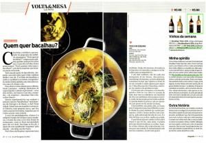 Revista sãopaulo: vinhos Esporão